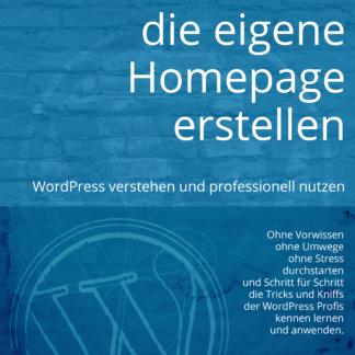 Mit WordPress die eigene Homepage erstellen Buchcover